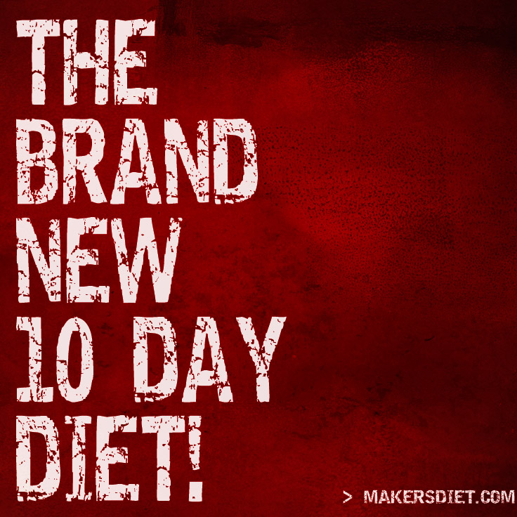 The Brand New 10 Day Diet!